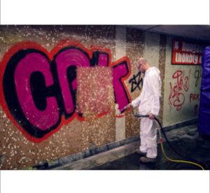 Műemlékvédelem, Graffiti eltávolítás